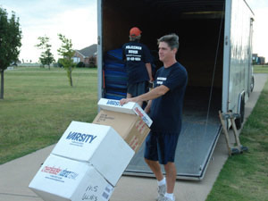 Keller Texas Moving Company - professional movers in the Dallas-Fort Worth Metroplex based in Keller, Texas